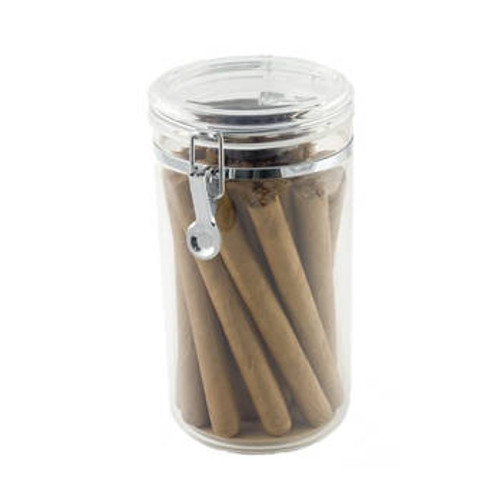 Acrylic Jar Cigar Display Humidor