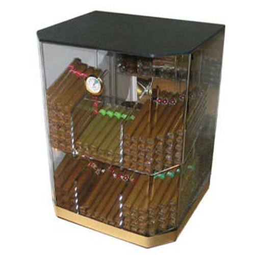 The Franklin: 6 Bin Acrylic Display Humidor