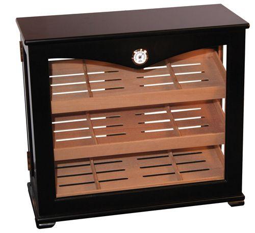 Vertical Display Cigar Humidor (Large)