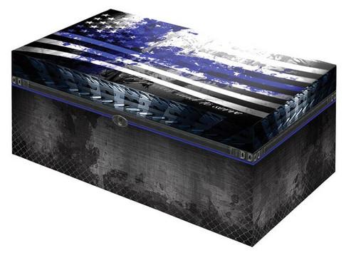 Desktop Cigar Humidor: Blue Line PD Cigar Humidor