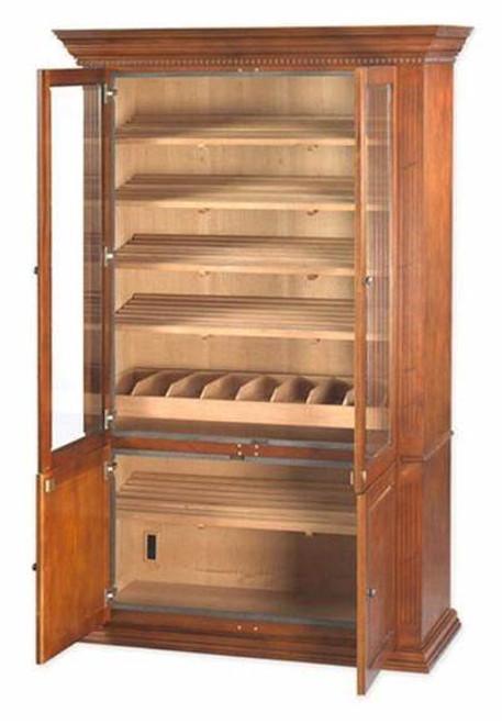 Cigar Cabinet Humidor: Commercial Display 5,000 Cigar Humidor
