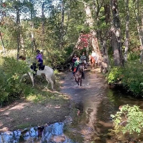 Riding in Groups  with Natural Obstacles - August 14th
