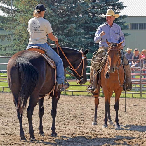 DEPOSIT ONLY: JOE WOLTER Horsemanship & Trail Clinic - July 27-29th