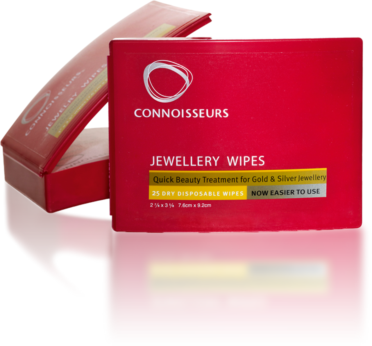 Connoisseurs Jewelry Wipes 25 Disposable Polishing Cloths for Gold & Silver  Jewelry, Rings, Watches