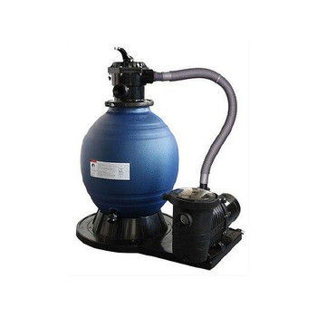 Blue Wave SandMan Deluxe Aboveground Sand Filter System 18Filter with 1 HP Pump