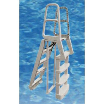 Main Access Comfort Incline Step A-Frame Above Ground Pool Ladder