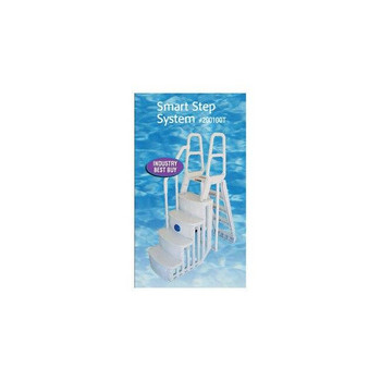 Main Access Smart Choice Above Ground Pool Ladder with Smart Step 24