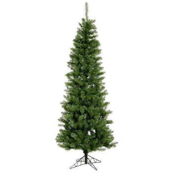 Vickerman Company Vickerman Salem Pencil Pine 4.5 with 110 Multi-Colored LED Lights