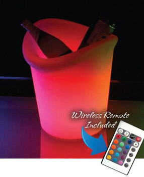 Main Access Illuminate Your Life Tonga LED Ice Bucket