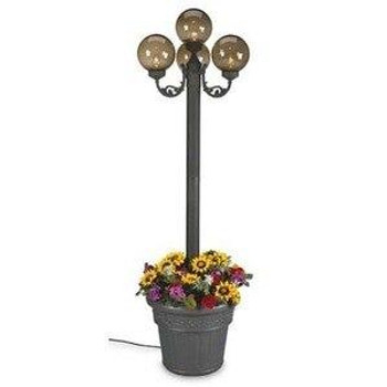 Patio Living Concepts Bronze Four Globe Planter Lamp