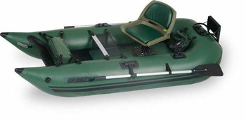 Sea Eagle Sea Eagle 285 Pro Inflatable 9ft Pontoon Boat Incl Oars Motormount