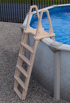 Confer Plastics A-Frame Above Ground Pool Adjustable Ladder Confer Plastics 7100X
