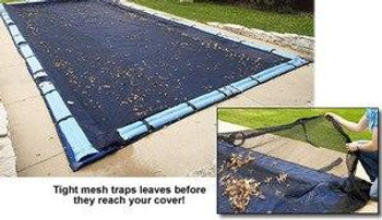 Leaf Net Cover for Rectangle Inground Pool