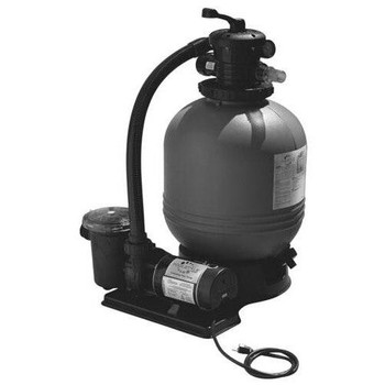 Sta-Rite Carefree Supreme 19 inch Sand Filter System with 1 HP pump