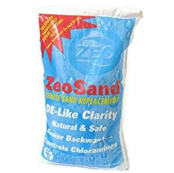 ZEO Inc ZeoSandSuperior Pool Filtration Media 50 lbs bag