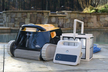 Maytronics Dolphin Triton Robotic Pool Cleaner With PowerStream
