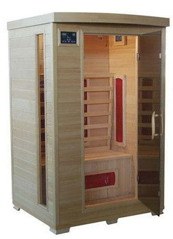 TheraPure Saunas Ceramic Infrared 2 Person Sauna Model ESF202HCE