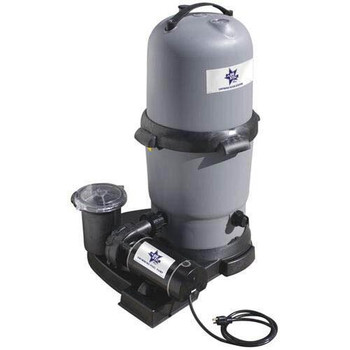 WaterWay Waterway Clearwater II DE Standard Filter System with 1.5 HP pump