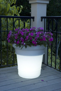 Patio Living Concepts Plug-in Lighted Outdoor Planter