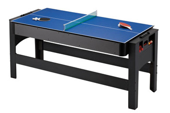 Carmelli Games and Sports Triple Threat 3 in 1 Flip Table