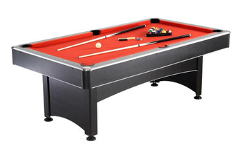 Carmelli Games and Sports Maverick 7 Foot Pool Table with Table Tennis