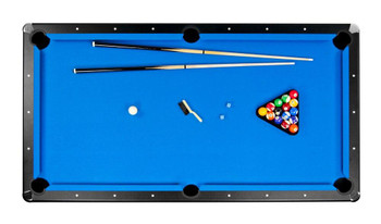 Carmelli Games and Sports Hustler Deluxe Pool Table