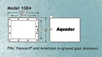 Aladdin Aquador Hayward IG 1084 Winter Skimmer Faceplate and Lid