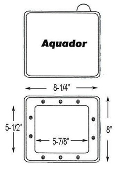 Aladdin Aquador AG Winter Plate SP1090