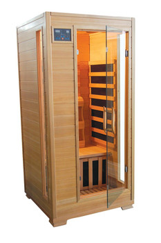 TheraPure Saunas Carbon Infrared 1 Person Sauna Model ESF101HCB by Therapure