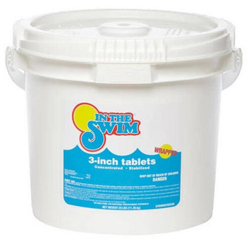 In The Swim 3 inch Chlorine Tablets 25 Pound Bucket