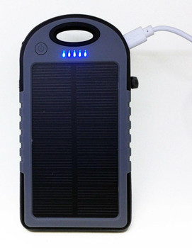 AudioBomb AudioBomb Reflex The Solar Powered WaterProof Dual Portable Charger