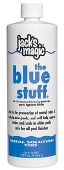 Jacks Magic Jacks Magic 1Quart Metal Solution Too, The Blue Stuff