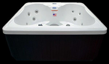 Hudson Bay Spas Hudson Bay Spas 4 Person White Pearl Acrylic Spa Model HB14