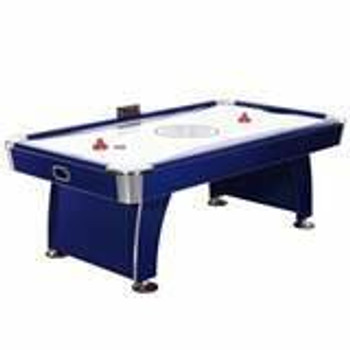 Blue Wave Phantom 7.5-ft Air Hockey Table with Electronic ScoriBG