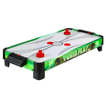 Blue Wave Power Play 40-in Portable Table Top Air Hockey for Kids