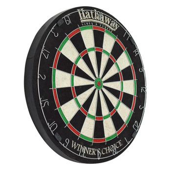 Blue Wave Winners Choice 18-in Sisal Fiber Bristle Dartboard