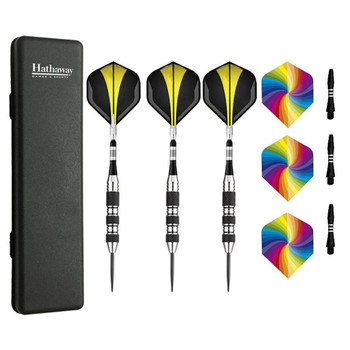 Blue Wave The Tempest Steel Tip Darts - Set of 3