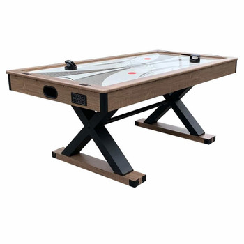 Blue Wave Excalibur 6-ft Air Hockey Table with Table Tennis Top