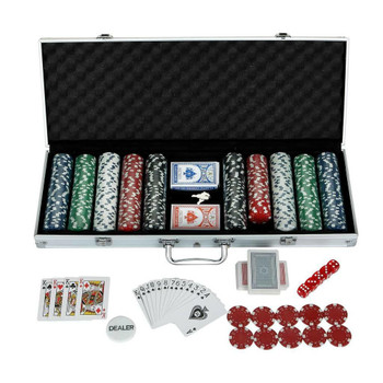 Blue Wave Monte Carlo 500-Piece Poker Set