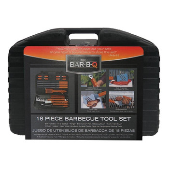 Mr Bar-B-Q Mr Bar-B-Q 18 Piece Tool Set