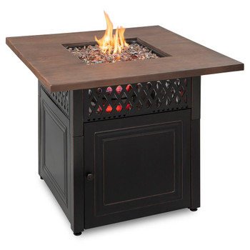 Endless Summer Endless Summer Donovan LP Gas Outdoor Fire Pit with DualHeat Technology
