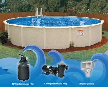 Embassy Pool Co Centennial 24 Round Pool Package
