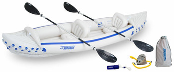 Sea Eagle Sea Eagle SE370K Deluxe Kayak Package