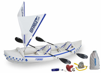 Sea Eagle Sea Eagle SE370K QuikSail Kayak Package
