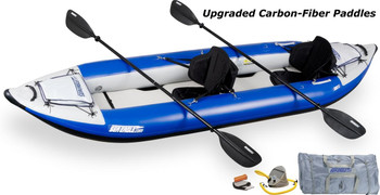 Sea Eagle Sea Eagle 380XK Pro Carbon Kayak Package