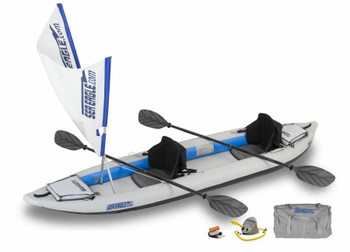 Sea Eagle Sea Eagle 385FT QuikSail Kayak Package