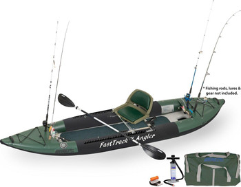 Sea Eagle Sea Eagle 385FTA Swivel Seat Fishing Rig Package