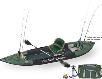 Sea Eagle Sea Eagle 385FTA Swivel Seat Fishing Rig Package