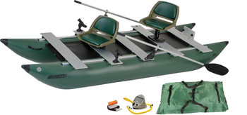 Sea Eagle Sea Eagle 375FC FoldCat Deluxe Inflatable Fishing Boat