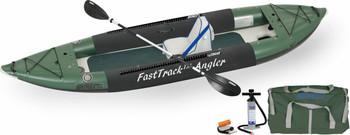 Sea Eagle Sea Eagle 385FTA Deluxe Solo Fishing Rig Package